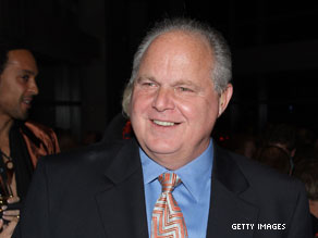 Special Olympics CEO Tim Shriver is asking Rush Limbaugh to watch his language.