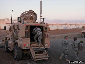 U.S. soldiers go on patrol near Sharan, Afghanistan, last week.