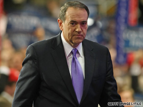 Former Arkansas Gov. Mike Huckabee criticized CPAC Saturday following his sixth place finish in the conferences straw poll.