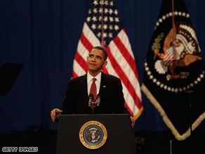President Obama said Tuesday night that for several years, Afghanistan has 'moved backwards.'
