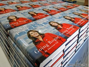 Former Alaska Gov. Sarah Palin's memoir 'Going Rogue' has sold more than one million copies after debuting only two weeks ago, her publisher Harper Collins tells CNN.