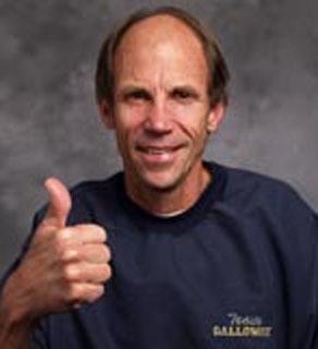 Running coach, Jeff Galloway