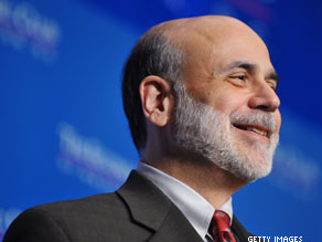 Bernanke: Fed will make profit on bailout.