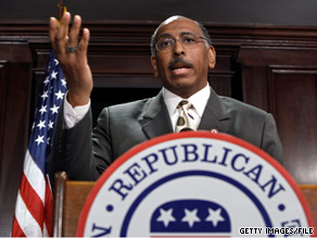 RNC Chairman Michael Steele said Tuesday that disagreements with Democrats over health care reform have &#039;nothing to do with the historic roots of slavery.&#039;