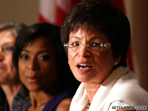 Obama adviser Valerie Jarrett downplayed a report Tuesday that recounted a testy telephone call between the president and fellow Democrat Rep. John Conyers.