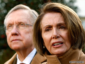 Congressional leaders, including Senate Majority Leader Harry Reid and House Speaker Nancy Pelosi, met Wednesday at the White House with the president.