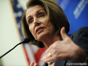 Pelosi has been named a 2009 loser in a new poll.