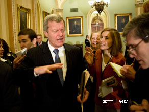 Max Baucus's spokesman confirms Hanes pay raise.