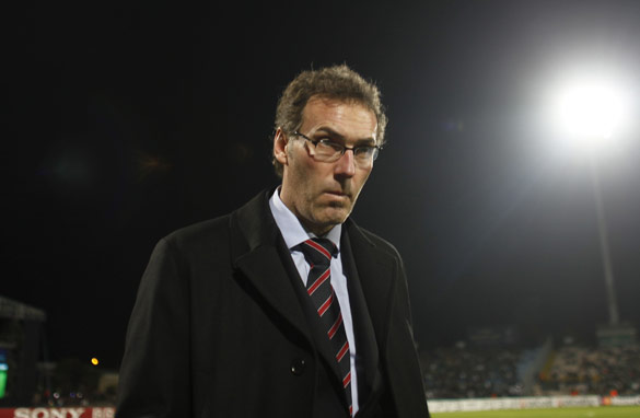 Laurent Blanc is a coach on the rise.