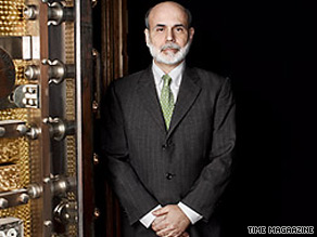Bernanke has been named Time&#039;s Person of the Year.