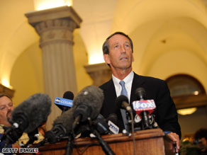Mark Sanford visited Washington on Thursday.
