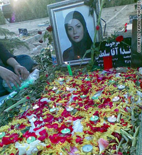 Neda Agha-Soltan was killed on June 29, 2009