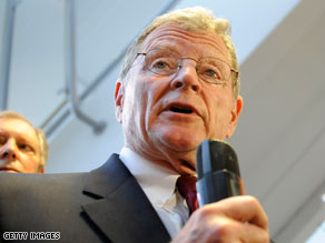 Inhofe: Copenhagen conference 'has failed'.