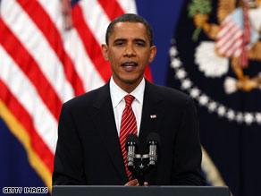 As 2009 comes to an end, about half of the country is giving President Barack Obama a thumbs up.