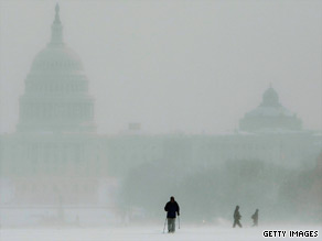 A winter storm is expected to wallop the D.C. area Saturday.
