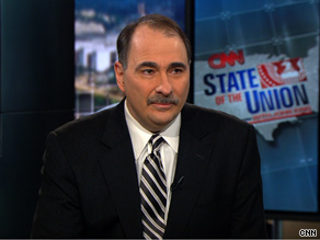 David Axelrod spoke out Sunday about the non-binding agreement that five countries, including the United States, agreed to at the Copenhagen climate talks.