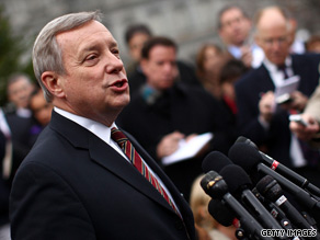 'I think it's time for a vote,' Sen. Durbin, the Senate's second-ranking Democrat said Sunday.