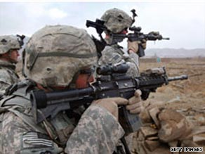 While the war in Afghanistan remains unpopular with most Americans, the public continues to support President Barack Obama's decision to send more U.S. troops to the conflict, according to a new national poll.