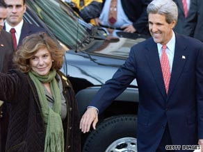 Teresa Heinz-Kerry, the wife of Sen. John Kerry, is battling breast cancer first discovered by an annual mammogram last September.