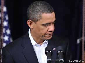 President Barack Obama warned Monday that the United States would respond aggressively to terrorism such as last week's botched attempt to blow up a U.S. airliner.