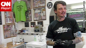 Guy Daniels is anxious about the next six months at his tattoo parlor in Wausau, Wisconsin.