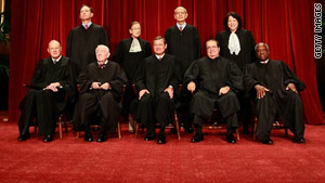 The current Supreme Court justices