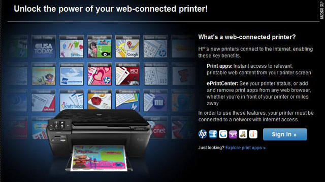 HP announced a slew of new devices that enable users to print from any device to a web-enabled printer.