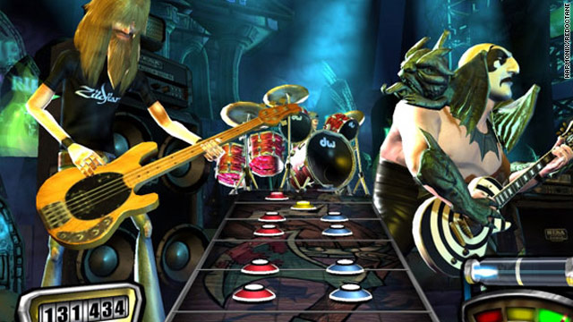 """Guitar Hero,"" which pairs an intuitive plastic guitar controller with on-screen action, has become a billion-dollar franchise."