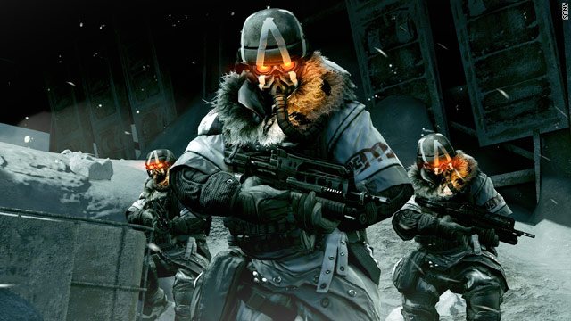 """Killzone 3"" is one of many upcoming games that will hit home screens in 3-D."