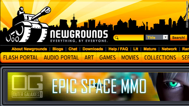 Scott Steinberg says Newgrounds' website has free games that even hardcore game enthusiasts will love.
