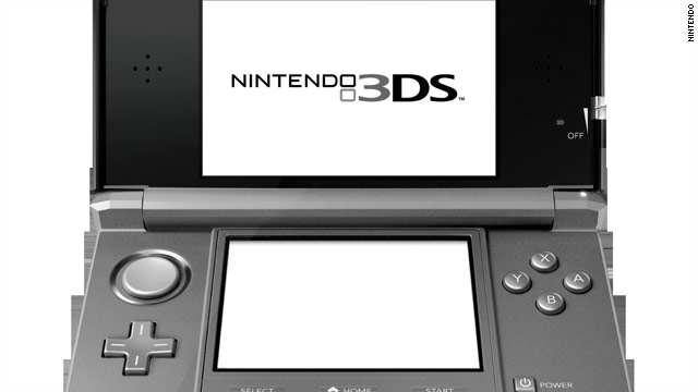 The Nintendo 3DS is a hand-held console that displays 3-D images without the use of special glasses.