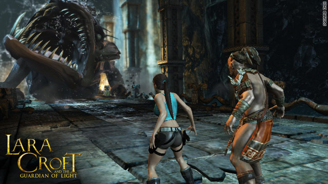"""Tomb Raider"" lets you explore, battle and solve puzzles in the company of friends like ""Lara Croft and the Guardian of Light."""