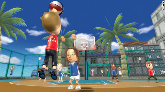 Wii Basketball is one of five games that players will compete in for prizes and glory.