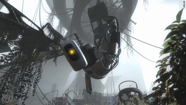 """Portal 2"" features the return of GLaDOS, a murderous computer that tries to the destroy the player -- in the name of science."