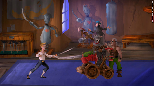 """""""Monkey Island 2 Special Edition: LeChuck's Revenge"""" is just one of the great games you can play on Apple's iPad."""