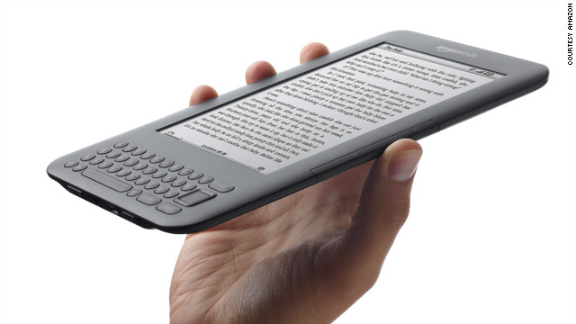 The new Amazon Kindle, which goes on sale in August, starts at $139.