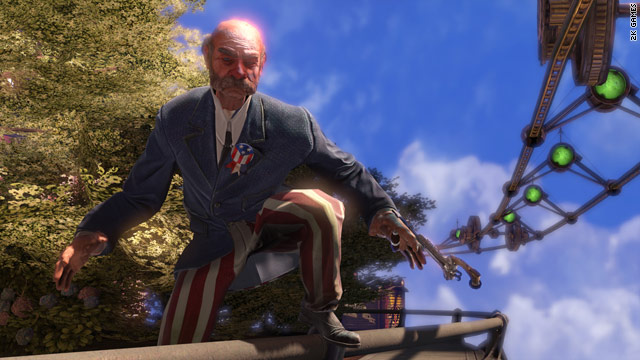 """""""Bioshock Infinite"""" features the search for the lost sky city of Columbia and, of course, troubles once you find it."""