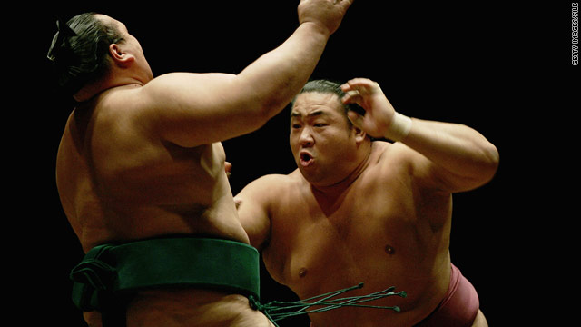 Sumo wrestlers' fingers may be too big for smaller phones, so Japan's sumo association has handed out iPads.