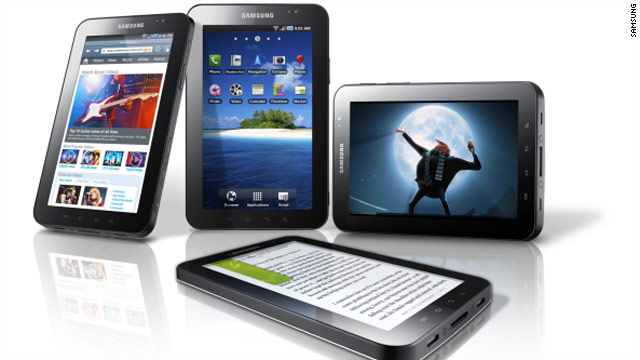 The big players in the developing tablet race are the same people tussling for consumers' dollars in the smartphone realm.