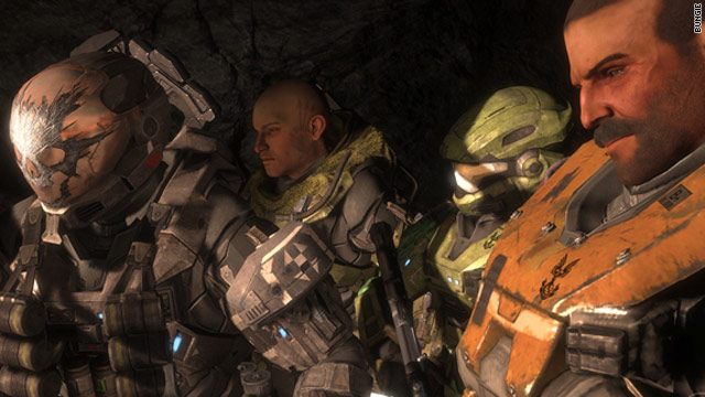 In &quot;Halo:Reach,&quot; distinct personalities emerge as a player's allies progress through challenges.