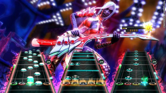 """Guitar Hero: Warriors of Rock"" is just one of many new games that looks a lot like a previous version."