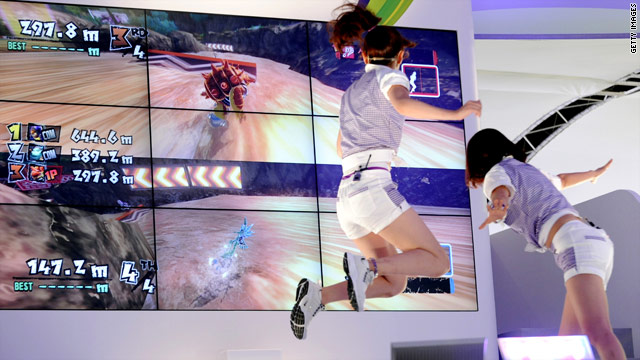 Seventeen Kinect-enabled games will be available when the device makes its debut next month.