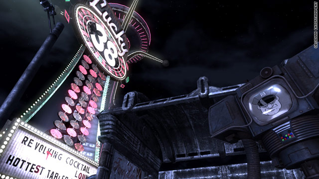 "You'll have to fight your way through the desert before hitting the bright lights in ""Fallout: New Vegas"""