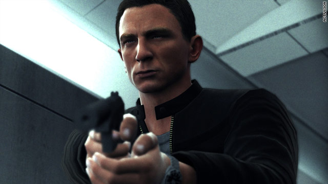 The icing on the cake for Bond fans suffering from withdrawal: the voice and image of Daniel Craig appears in two new games.
