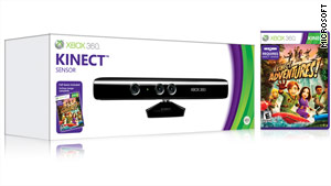 Cameras and facial-recognition software help Microsoft's Kinect work with its Xbox console.