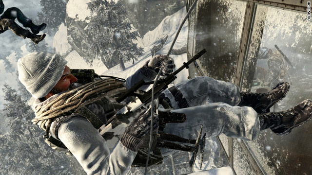 &quot;Call of Duty: Black Ops&quot; sold 5.6 million copies in one day, breaking the Activision franchise's own record.