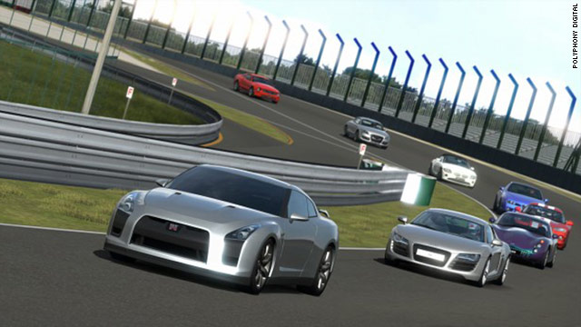 "Players can choose from more than 1,000 cars, 71 racetracks in ""Gran Turismo 5."""
