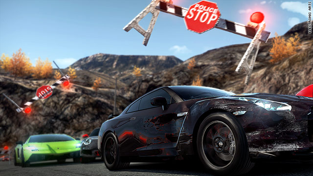 "Players can be racers, or the cops who want to stop them, in ""Need for Speed: Hot Pursuit."""