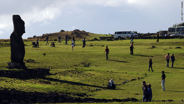 Tourists on Easter Island will be ablse to see the solar eclipse.