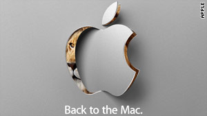 King of the jungle: Apple's invitation to Wednesday's event.